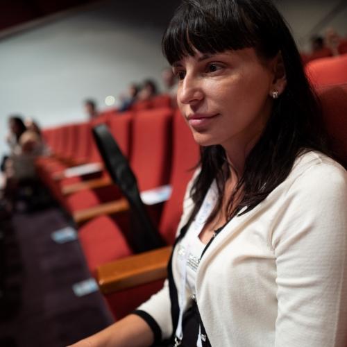 "Главният дерматолог на ""Lege Artis"" - Стара Загора д-р Георгиева присъства на лекциите."