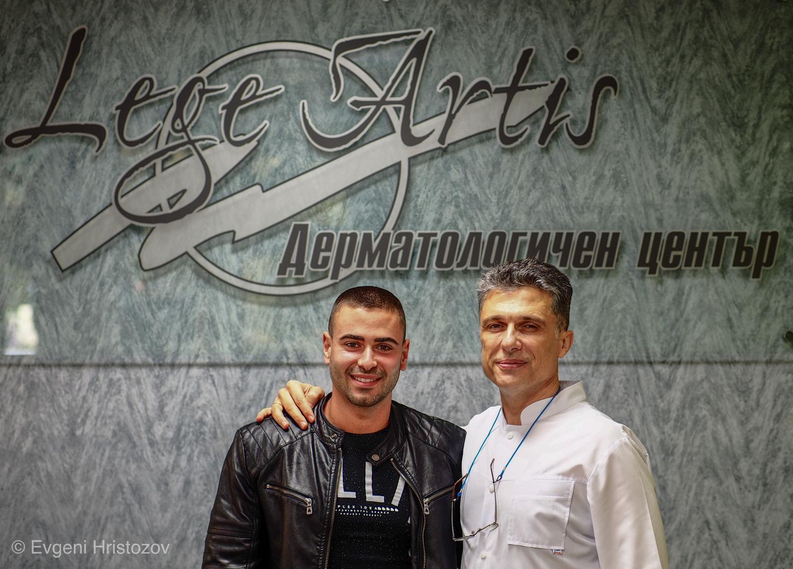 Ивелин Братанов и д-р Христозов